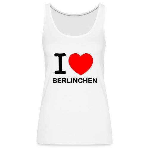 I love Berlinchen - Frauen Premium Tank Top