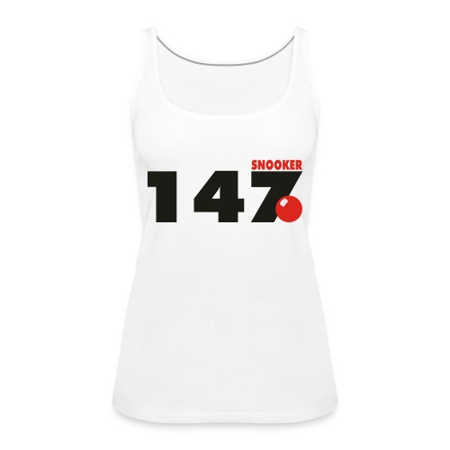 147 Snooker - Frauen Premium Tank Top