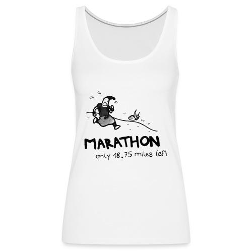 marathon-png - Tank top damski Premium