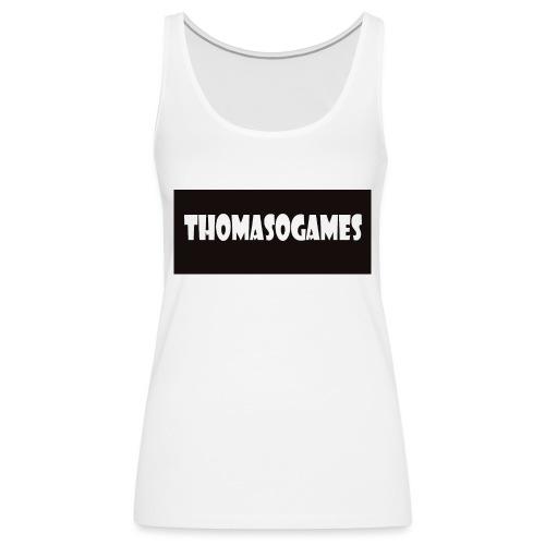 ThomasoGames Logo - Vrouwen Premium tank top