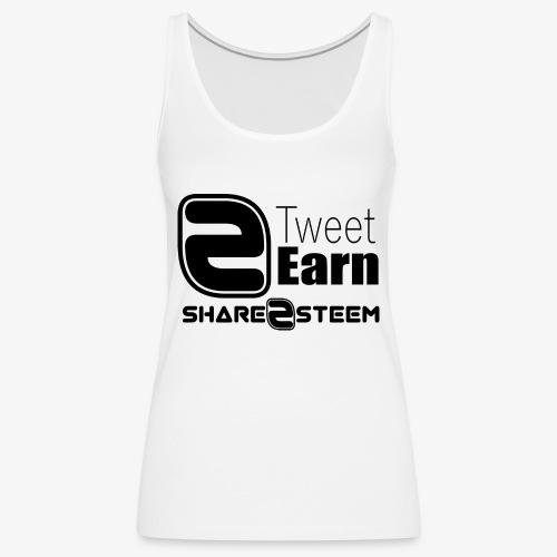 Share2Steem - Débardeur Premium Femme