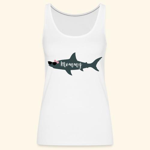Mommy shark - Camiseta de tirantes premium mujer
