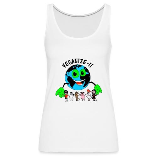 veganize-it-bunt - Frauen Premium Tank Top