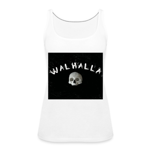 WALHALLA SCULL MOTIV FASHION WIKINGER - Frauen Premium Tank Top
