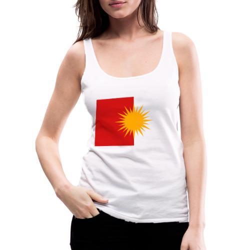 Yeziden T-Shirt Ezidi,Shingal,Şingal - Frauen Premium Tank Top