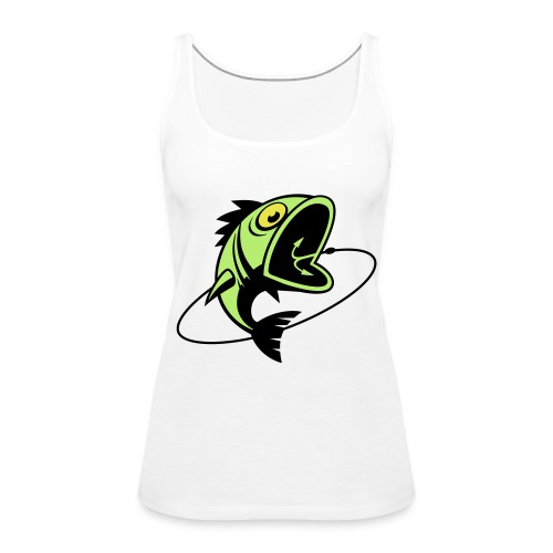 VL107B_BigFish_3c - Frauen Premium Tank Top