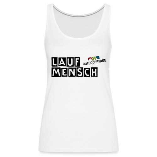 LaufMensch#01 - Frauen Premium Tank Top