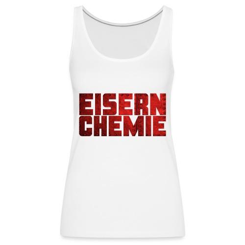 Eiserner Chemie Script Metalloptik - Frauen Premium Tank Top