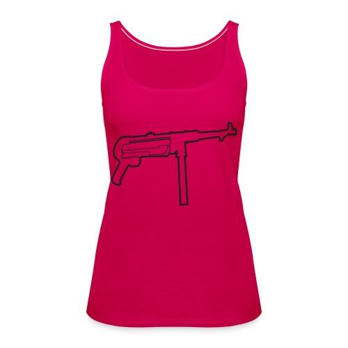 Mp40 german gun maschinenpistole 40 - Women's Premium Tank Top