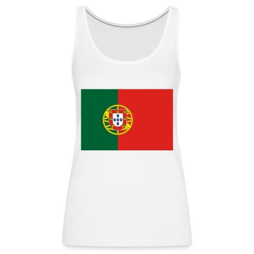 portugal - Frauen Premium Tank Top