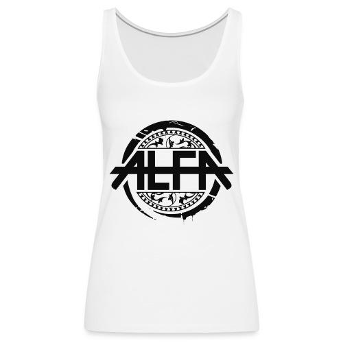 Alfa Logo - Frauen Premium Tank Top