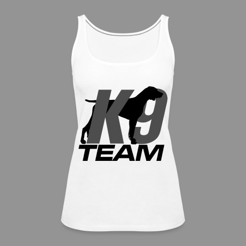 K-9 Team - German Shorthaired Pointer - Women's Premium Tank Top