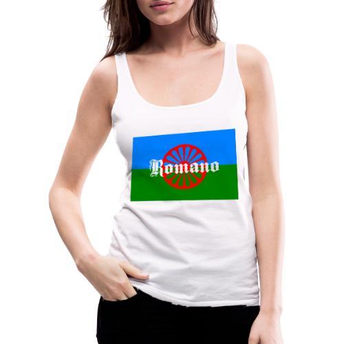 Flag of the Romanilenny people svg - Premiumtanktopp dam
