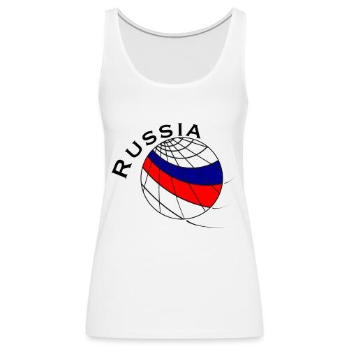 Russland Fußballmotiv - Camiseta de tirantes premium mujer