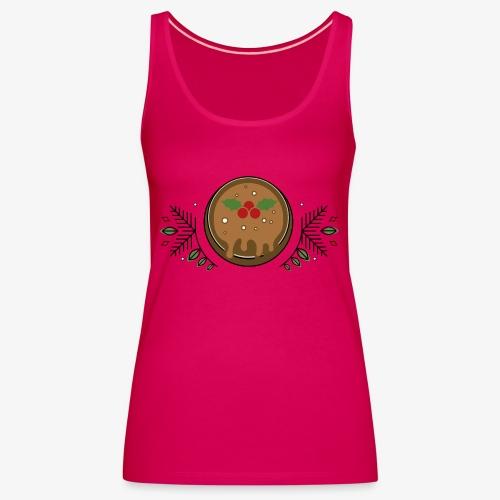 CHRISTMAS PUDDING - Women's Premium Tank Top