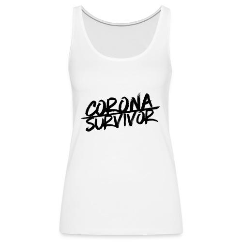 Corona Virus – Survivor (dh) - Frauen Premium Tank Top