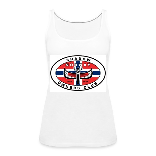 SHOC Norway Patch jpg - Premium singlet for kvinner