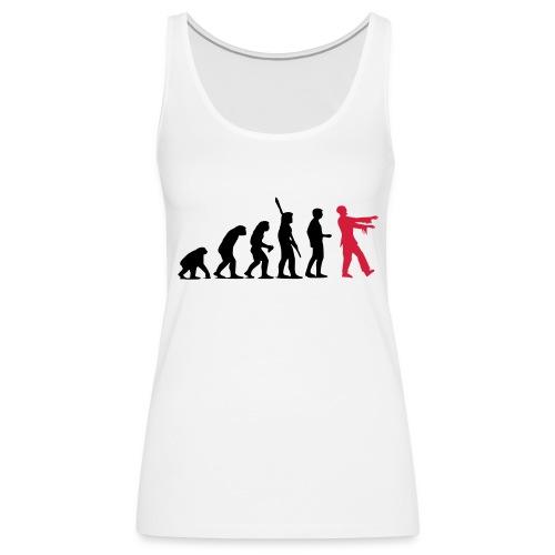Zombie Evolution (zweifarbig) - Frauen Premium Tank Top