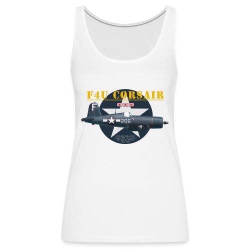 F4U Jeter VBF-83 - Women's Premium Tank Top