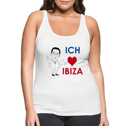 Ich liebe IBIZA und gute Gespräche, Ibizagate - Frauen Premium Tank Top