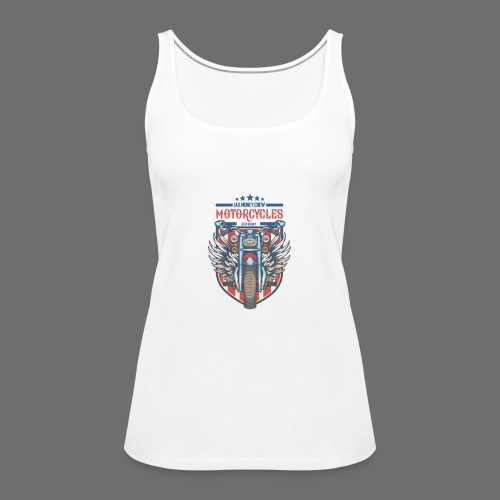 JAX MONEY CREW Motorcycle - Women's Premium Tank Top