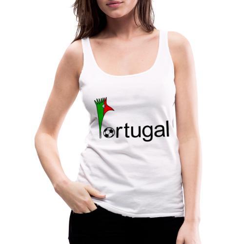 Galoloco Portugal 1 - Débardeur Premium Femme