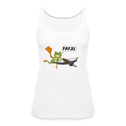 Amazing Frog Crossbow - Women's Premium Tank Top