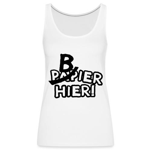 bbb_bierhier - Women's Premium Tank Top