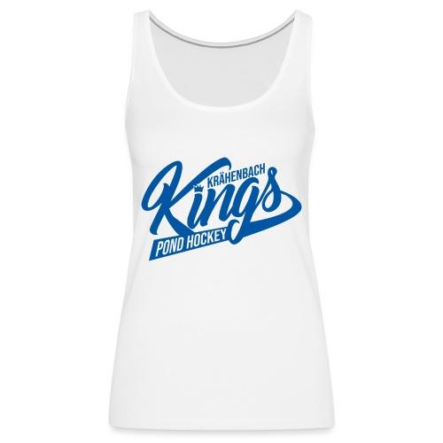 KINGS Logo 2019 einfach blue - Frauen Premium Tank Top