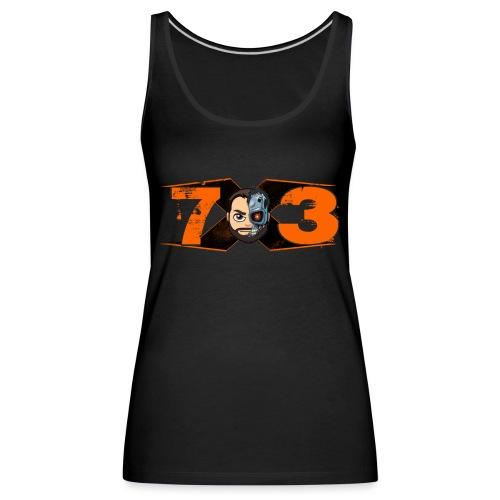 X73 Retro - Camiseta de tirantes premium mujer