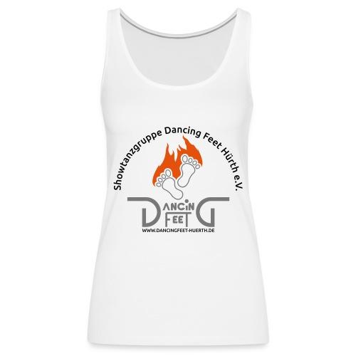 Dancing Feet T-Shirt 2019 - Frauen Premium Tank Top