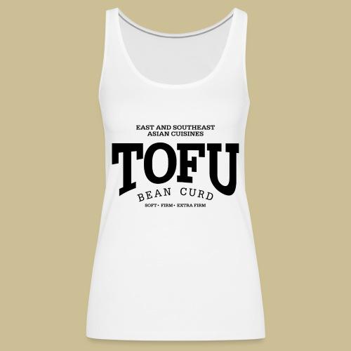 Tofu (black) - Frauen Premium Tank Top