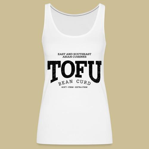 Tofu (black oldstyle) - Frauen Premium Tank Top