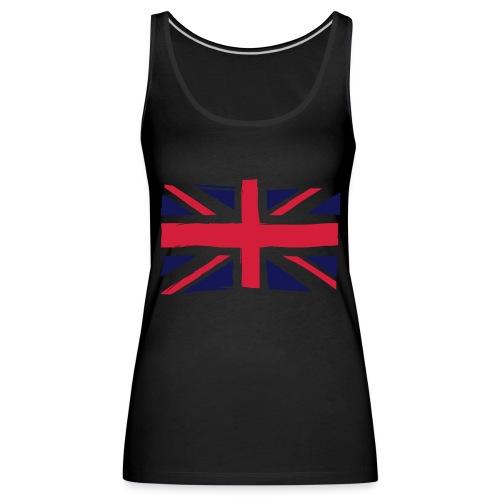 vlag engeland - Vrouwen Premium tank top