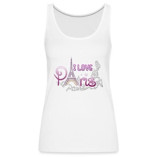 I LOVE PARIS - Camiseta de tirantes premium mujer