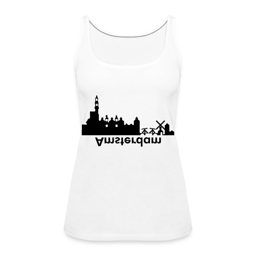 Amsterdam Skyline - Frauen Premium Tank Top
