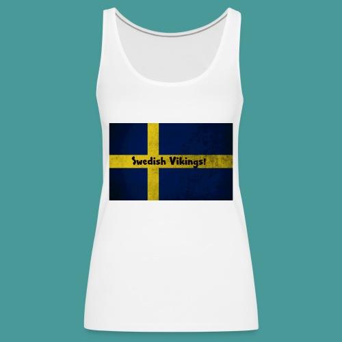 Swedish Vikings - Premiumtanktopp dam