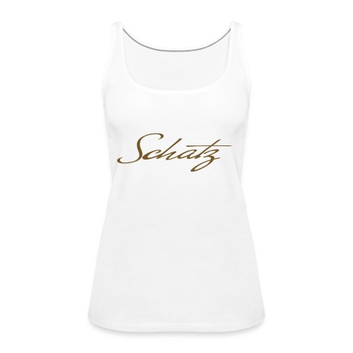 Schatz Baseballshirt - Premiumtanktopp dam