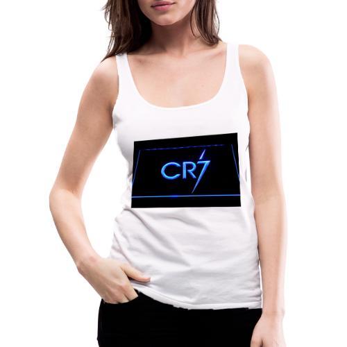 C R 7 neon - Women's Premium Tank Top