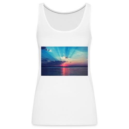 Primus- Sunrise T-shirt Weiß - Frauen Premium Tank Top