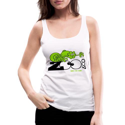 Zooco Chameleon - Women's Premium Tank Top