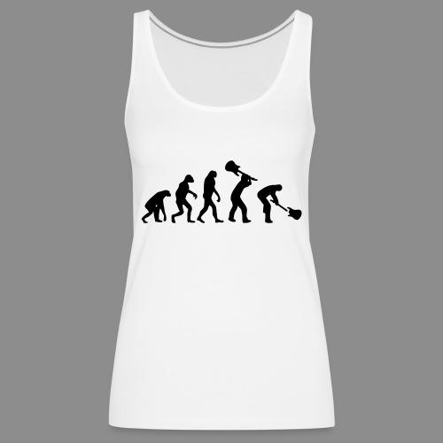 Evolution Rock - Camiseta de tirantes premium mujer