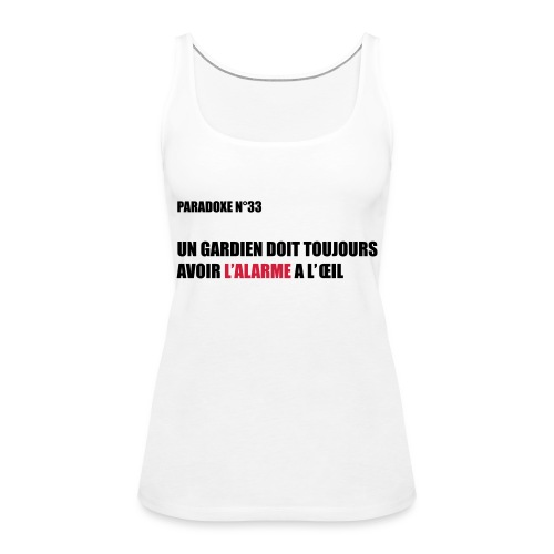 PARADOXE gardien - Débardeur Premium Femme
