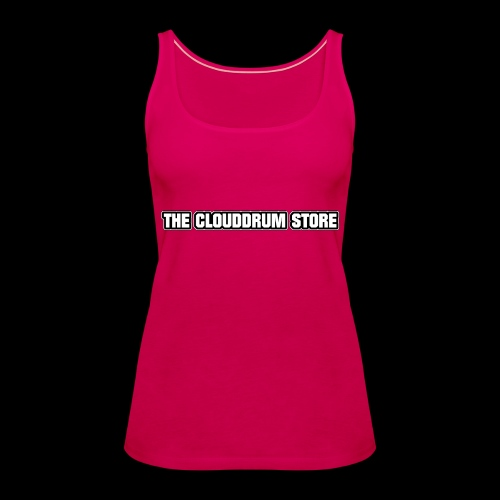 THE CLOUDDRUM STORE - Vrouwen Premium tank top