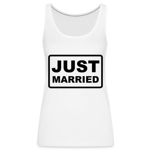 Just Married - Frauen Premium Tank Top