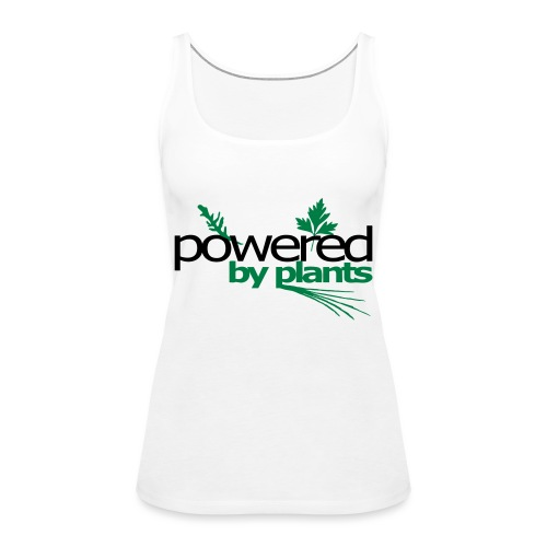 POWERED BY PLANTS - Frauen Premium Tank Top