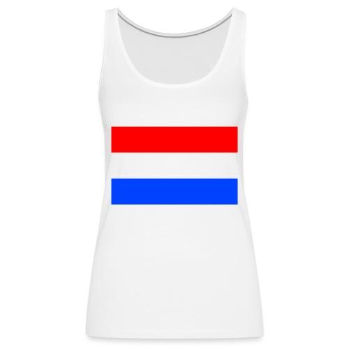 Nederlandse vlag - Vrouwen Premium tank top