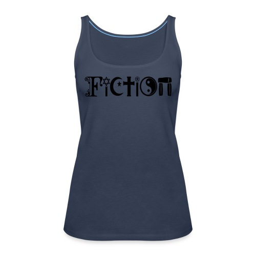 Fiction Schwarz - Frauen Premium Tank Top