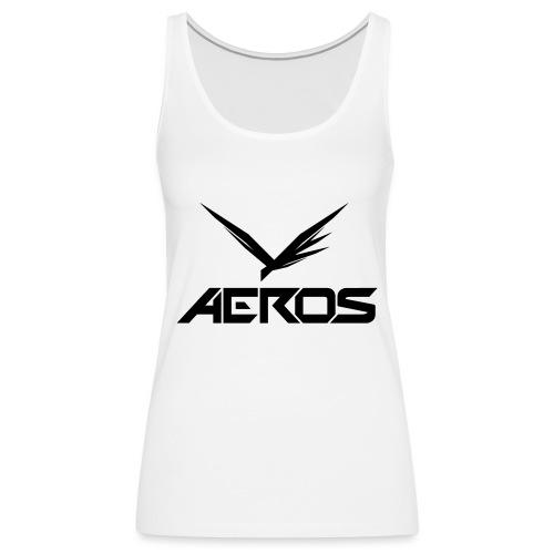 Aeros LOGO 2016 final - Vrouwen Premium tank top