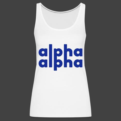 alpha alpha - Frauen Premium Tank Top